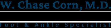 W. Chase Corn, M.D.  Logo